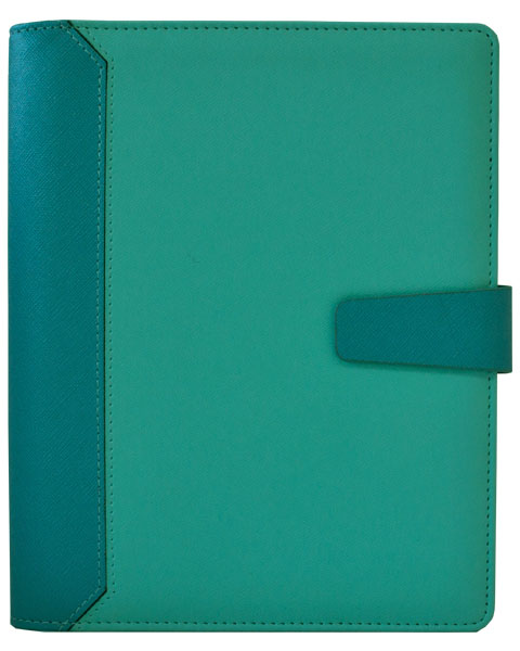 Agenda Planner Thermo PU Oris Turquoise