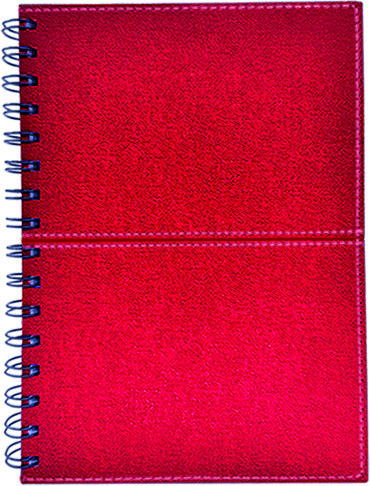 Business Planner Thermo PU Chatto Red