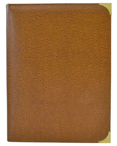 Corporate Portfolio Diary BPB / Special Cover Brown
