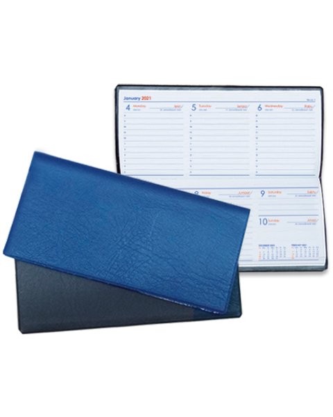 Slim Diary Blue & Black
